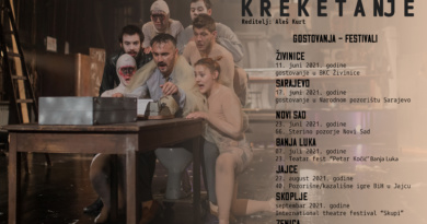 "Ljetna turneja predstave ""Kreketanje"""